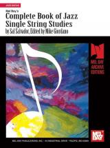 Salvador Sal - Complete Book Of Jazz Single String Studies - Guitar
