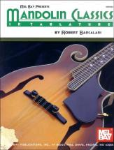 Bancalari Robert - Mandolin Classics In Tablature - Mandolin