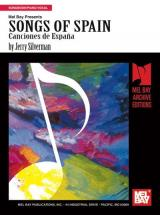 Silverman Jerry - Songs Of Spain (piano/vocal) - Piano/vocal