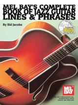 Jacobs Sid - Complete Book Of Jazz Guitar Lines And Phrases + Cd - Guitar