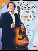 Kaufman Steve - Classic Arrangements Of Vintage Songs For Flatpicking Guitar + Cd - Guitar