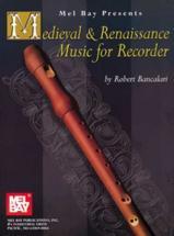 Bancalari Robert - Medieval And Renaissance Music - Recorder
