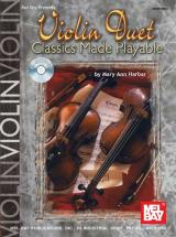 Harbar Mary Ann - Violin Duet Classics Made Playable + Cd - Violin