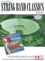 Flesher Bob - String Band Classics For Banjo + Cd - Banjo