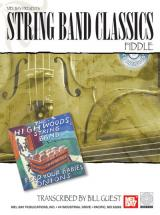 Guest Bill - String Band Classics - Fiddle + Cd - Fiddle