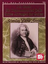 Bach J.s. - Six Unaccompanied Cello Suites Arranged For Guitar - Guitar