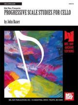 Bauer John - Progressive Scale Studies For Cello - Cello
