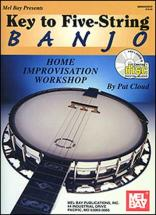 Cloud Patrick - Key To Five-string Banjo + Cd - Banjo