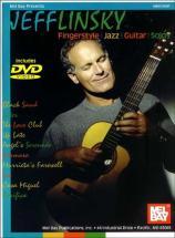 Linsky Jeff - Fingerstyle Jazz Guitar Solos + Dvd - Guitar