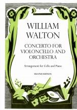 Walton W. - Cello Concerto - Violoncelle Et Piano