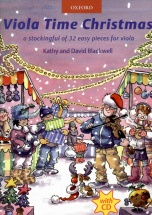 Blackwell Kathy and David - Viola Time Christmas + Cd - Alto