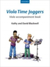 Blackwell Kathy & David - Viola Time Joggers Viola Accompaniment Book