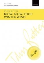John Rutter - Blow Blow Thou Winter Wind - Vocal Score