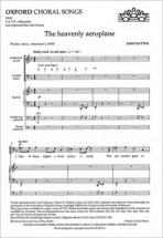 John Rutter - The Heavenly Aeroplane - Satb and Piano