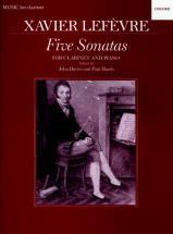 Lefevre Xavier - Cinq Sonates - Clarinette
