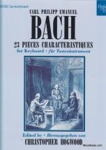 Bach C.p.e. - 23 Pieces Caracteristiques - Piano