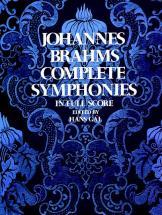 Brahms J. - Complete Symphonies - Full Score
