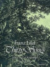 Liszt Franz - Thirty Songs