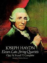 Haydn F.j. - Eleven Late String Quartets Op.74, 76, 77