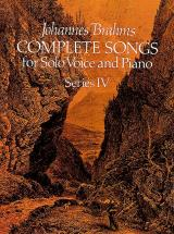Brahms J. - Complete Songs Vol.4 - Chant, Piano
