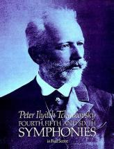 Tchaikowsky P.i. - Symphonies N°4,5,6 - Full Score