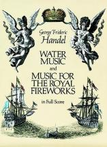 Haendel G.f. - Water Music And Music For The Royal Fireworks - Conducteur