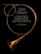 Mozart W.a. - Concerti For Wind Instruments - Full Score