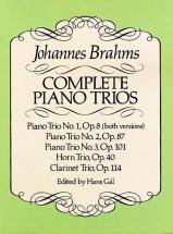 Brahms J. - Complete Piano Trios