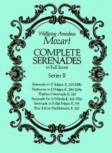 Mozart W.a. - Complete Serenades Vol.2 - Full Score