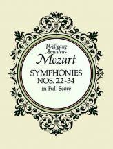 Mozart W.a. - Symphonies N°22 A 34 - Full Score