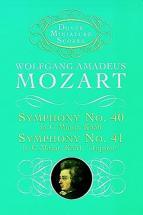 Mozart W.a. - Sinfonia N.40 K550 N.41 K551 - Conducteur Poche