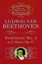 Beethoven L.van - Symphony N°5 Op.67 C Minor - Miniatiure Scores