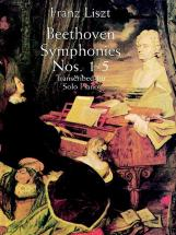 Liszt F. - Beethoven Symphonies N°1-5 - Piano
