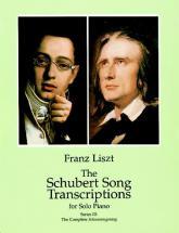 Liszt F. - Schubert Song Transcriptions Vol.3 - Piano