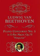 Beethoven L.van - Piano Concerto N°5 Op.73 In E Flat Major Emperor - Miniature Score