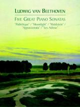 Beethoven L.van - Five Great Piano Sonatas - Piano