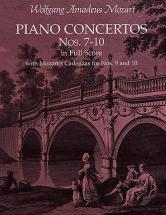 Mozart W.a. - Piano Concerto N°7-10 - Full Score