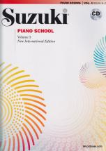 Suzuki - Piano School Vol.3 + Cd