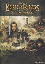 Shore Howard - Lord Of The Rings Trilogy - Piano Solo
