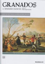Granados E. - 12 Spanish Dances Op. 5 - Piano