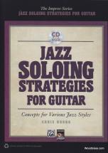Buono Ch. - Jazz Soloing Stragegies - Guitare + Cd