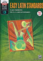 Jazz Easy Play-along Series, Vol. 3 : Easy Latin - Tous Instruments + Cd