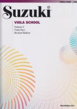 Suzuki Viola School Viola Part Vol.2 + Cd Rev. Edition - Alto