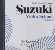 Suzuki Violin School Vol.2 - Cd Seul (david Cerone Performs)