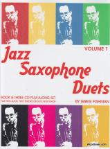 Fishman G. - Jazz Saxophone Duets V.1 + 3 Cd