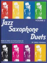 Fishman G. - Jazz Saxophone Duets V.2 + 3 Cd