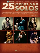 25 Great Sax Solos + Cd