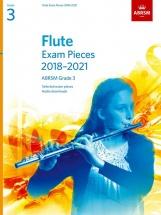 Abrsm Flute Exam Pieces Grade 3 2018-2021 - Flute and Piano