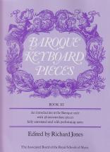 Jones - Baroque Keyboard Pieces Vol. 3