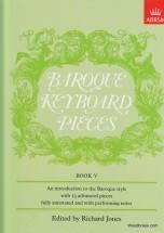 Jones - Baroque Keyboard Pieces Vol. 5